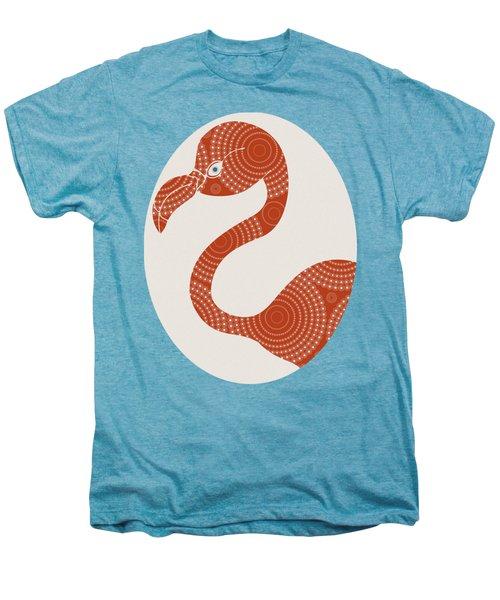 Floral Flamingo Men's Premium T-Shirt
