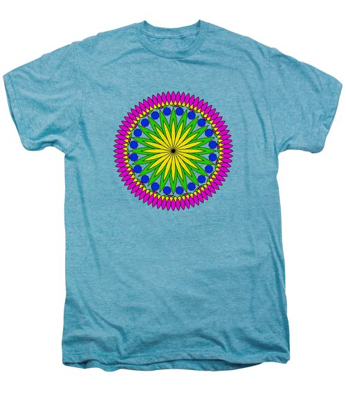 Flower Mandala By Kaye Menner Men's Premium T-Shirt