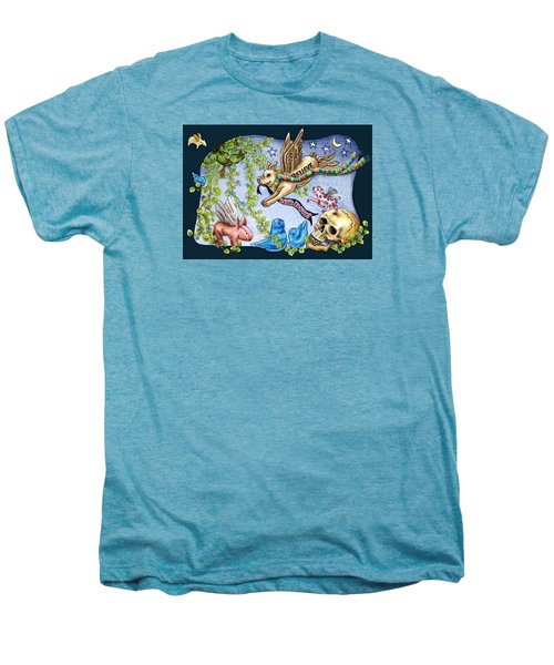 Flying Pig Party 2 Men's Premium T-Shirt