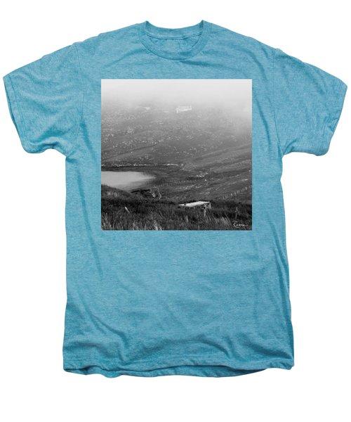 Foggy Scottish Morning Men's Premium T-Shirt