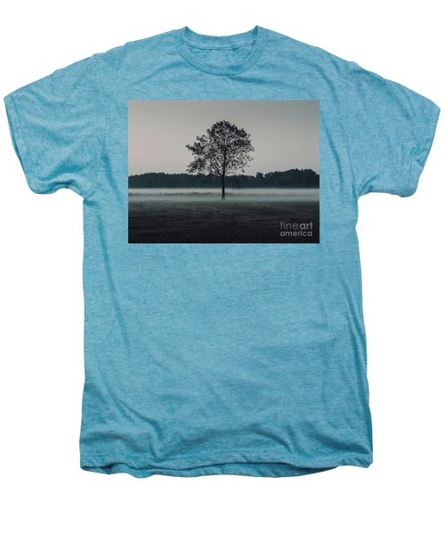 Men's Premium T-Shirt featuring the photograph Forest Fog by MGL Meiklejohn Graphics Licensing