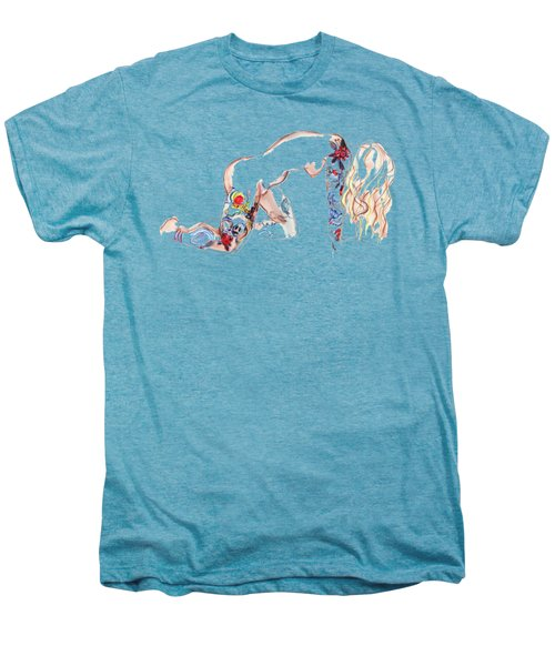 Forever Amber - Tattoed Nude Men's Premium T-Shirt by Carolyn Weltman