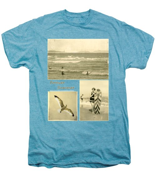 Men's Premium T-Shirt featuring the photograph Forever Summer 3 by Linda Lees