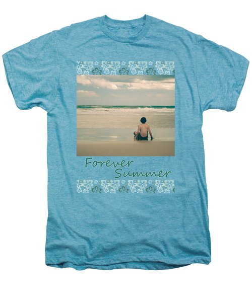 Men's Premium T-Shirt featuring the photograph Forever Summer 7 by Linda Lees