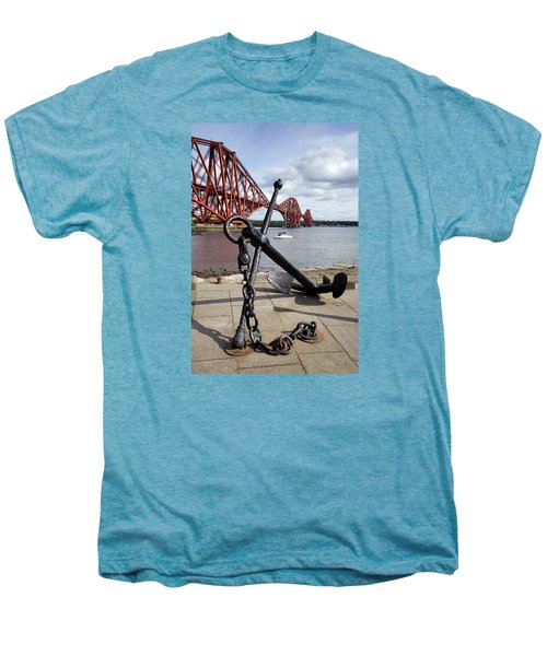 Men's Premium T-Shirt featuring the photograph Forth Bridge by Jeremy Lavender Photography