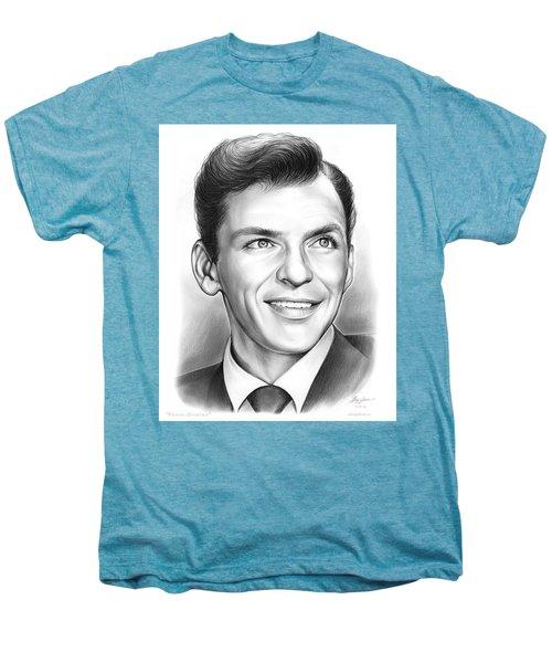 Frank Sinatra Men's Premium T-Shirt by Greg Joens
