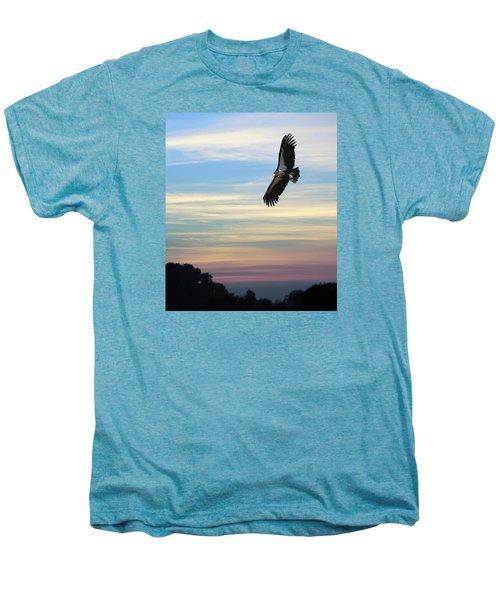 Free To Fly Again - California Condor Men's Premium T-Shirt