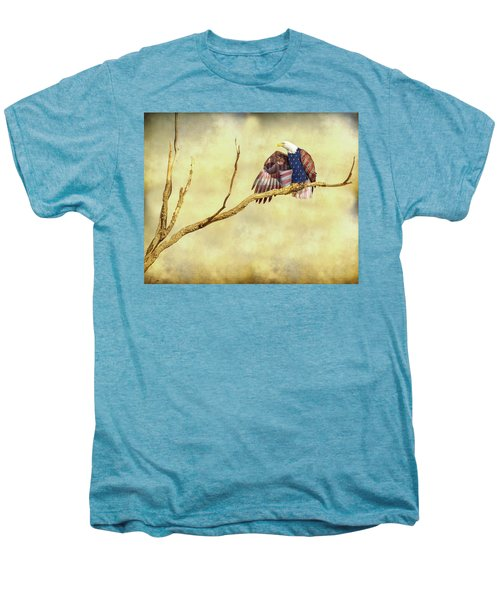 Men's Premium T-Shirt featuring the photograph Freedom by James BO Insogna
