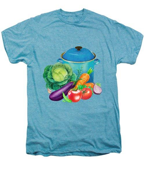Fresh Vegetable Bounty Men's Premium T-Shirt