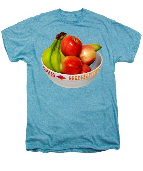 Fruit Bowl Still Life Men's Premium T-Shirt by William Galloway
