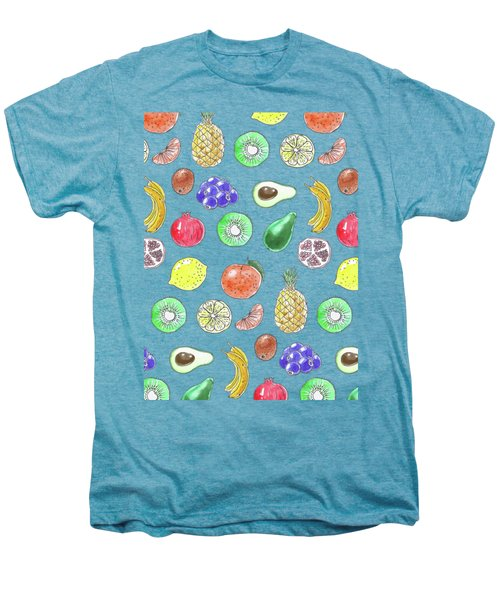 Fruit Pattern  Men's Premium T-Shirt