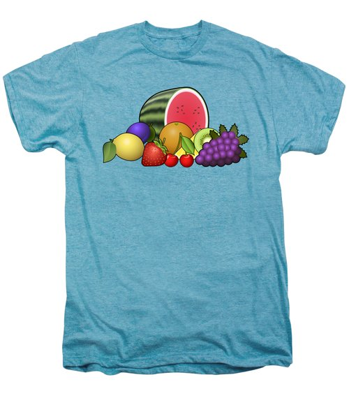 Fruits Heap Men's Premium T-Shirt by Miroslav Nemecek