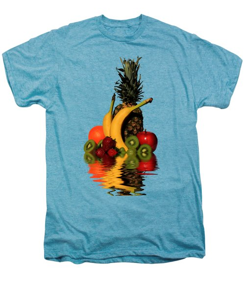 Fruity Reflections - Medium Men's Premium T-Shirt by Shane Bechler