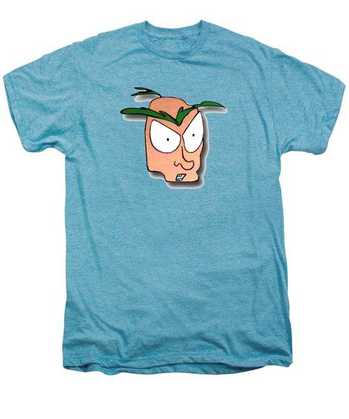 Fu Party People - Peep 001 Men's Premium T-Shirt by Dar Freeland