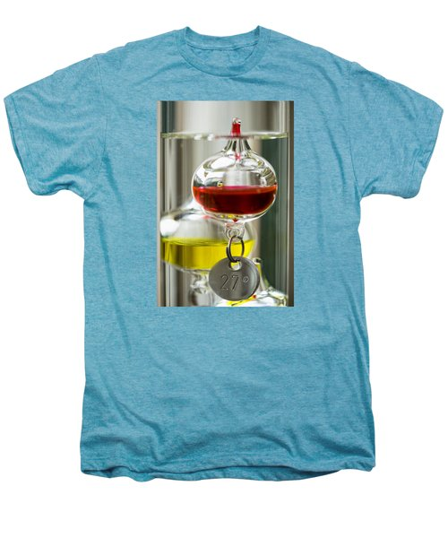 Men's Premium T-Shirt featuring the photograph Galileo Thermometer by Jeremy Lavender Photography