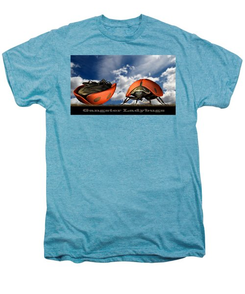 Gangster Ladybugs Nature Gone Mad Men's Premium T-Shirt by Bob Orsillo