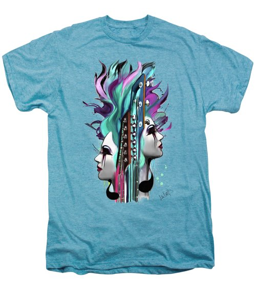 Gemini Men's Premium T-Shirt by Melanie D