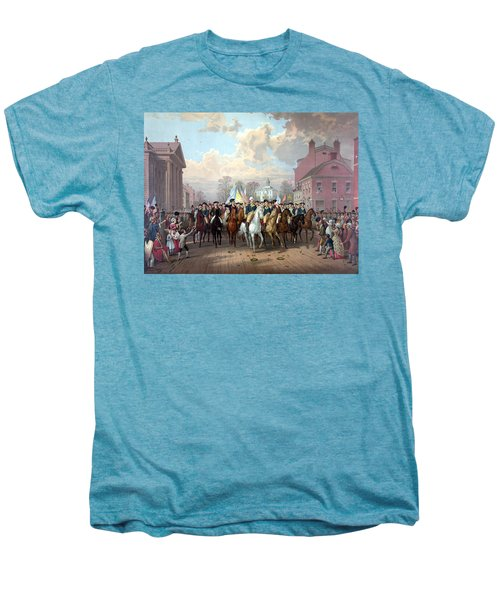 General Washington Enters New York Men's Premium T-Shirt by War Is Hell Store