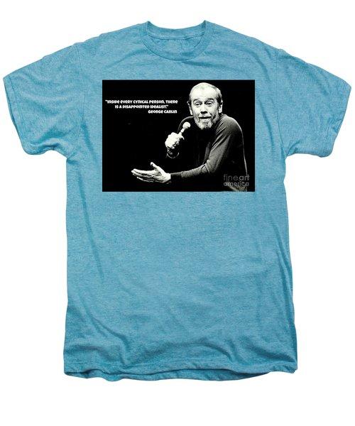 George Carlin Art  Men's Premium T-Shirt