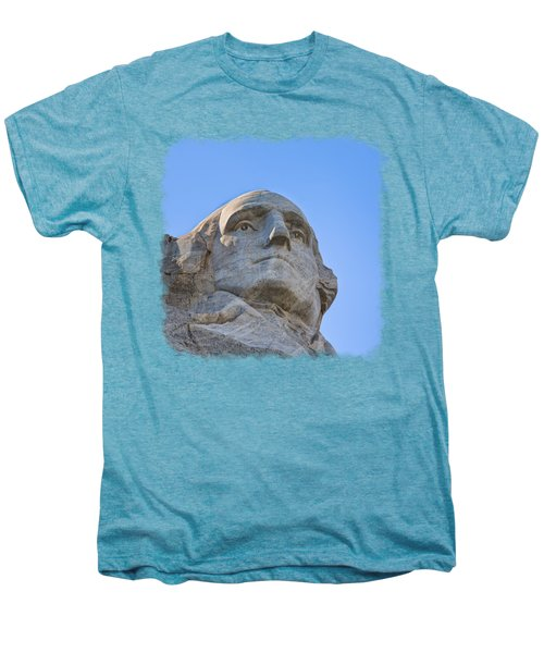 George Washington 3 Men's Premium T-Shirt by John M Bailey