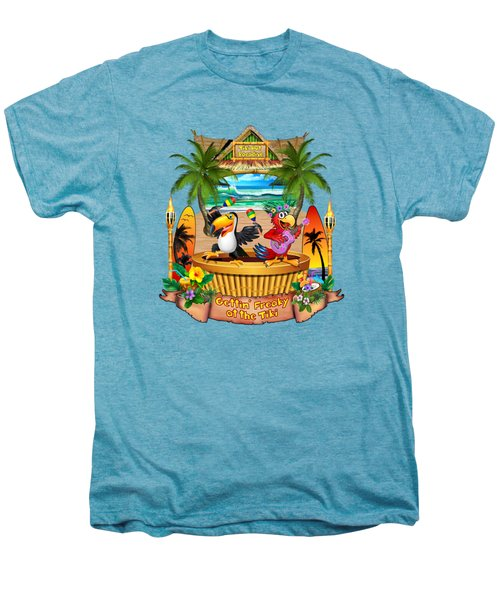 Gettin' Freaky At The Tiki Men's Premium T-Shirt