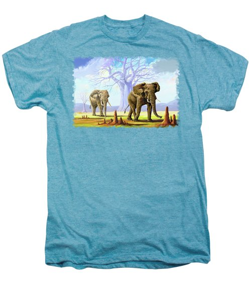 Giants And Little People Men's Premium T-Shirt