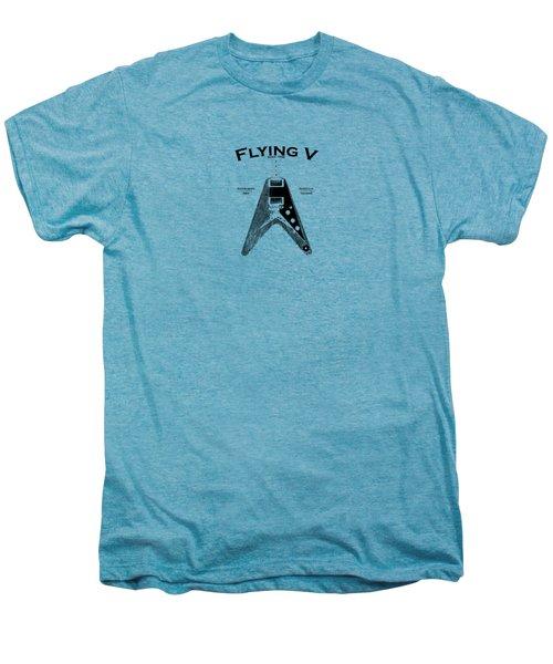 Gibson Flying V Men's Premium T-Shirt by Mark Rogan