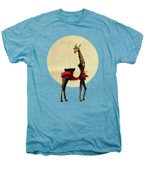 Giraffe Men's Premium T-Shirt by Ali Gulec