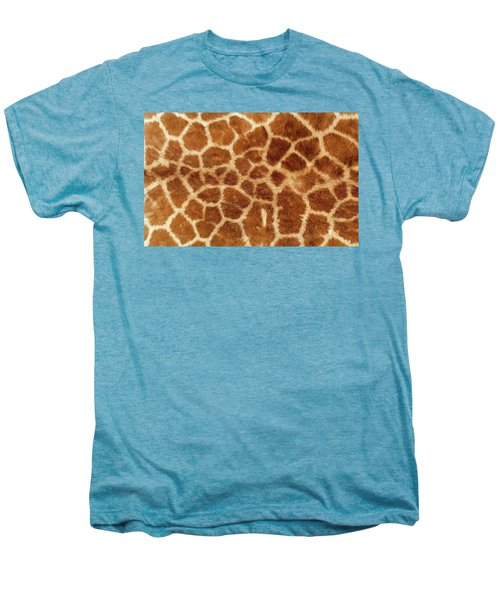 Giraffe Skin Close Up 2 Men's Premium T-Shirt