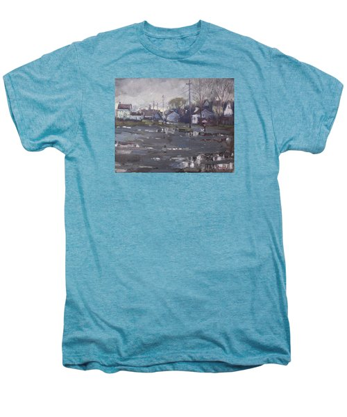 Gloomy And Rainy Day By Hyde Park Men's Premium T-Shirt by Ylli Haruni
