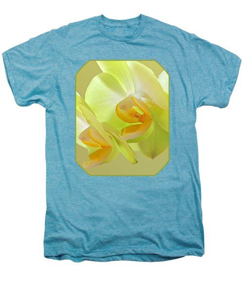 Glowing Orchid - Lemon And Lime Men's Premium T-Shirt by Gill Billington