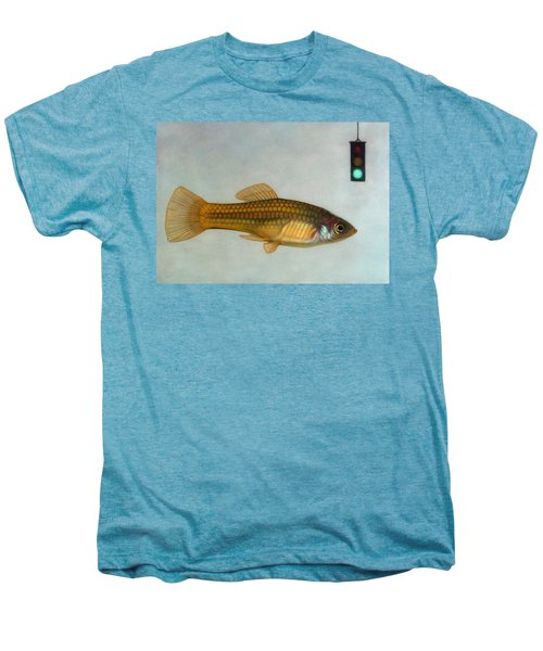 Go Fish Men's Premium T-Shirt by James W Johnson