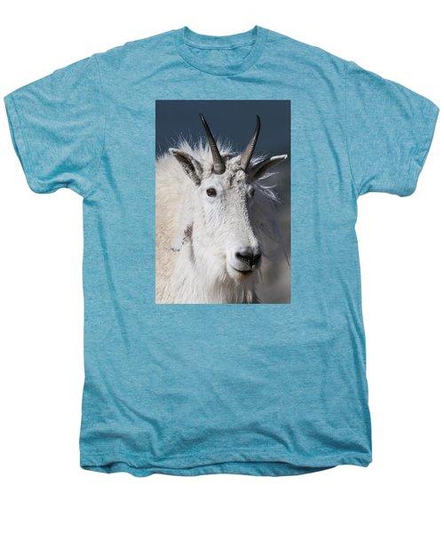 Goat Portrait Men's Premium T-Shirt