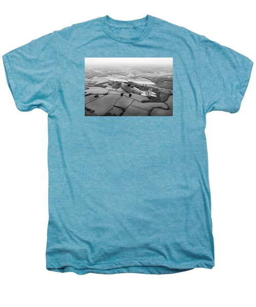 Men's Premium T-Shirt featuring the photograph Going Solo by Gary Eason