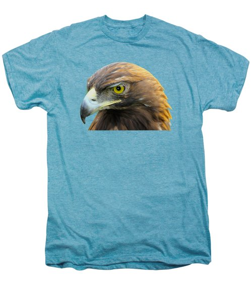 Golden Eagle Men's Premium T-Shirt by Shane Bechler