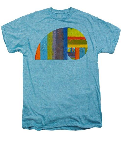 Golden Spiral Study Men's Premium T-Shirt by Michelle Calkins
