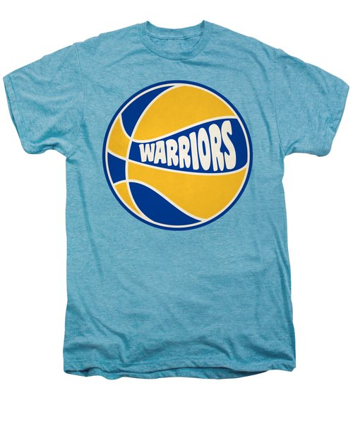 Golden State Warriors Retro Shirt Men's Premium T-Shirt by Joe Hamilton