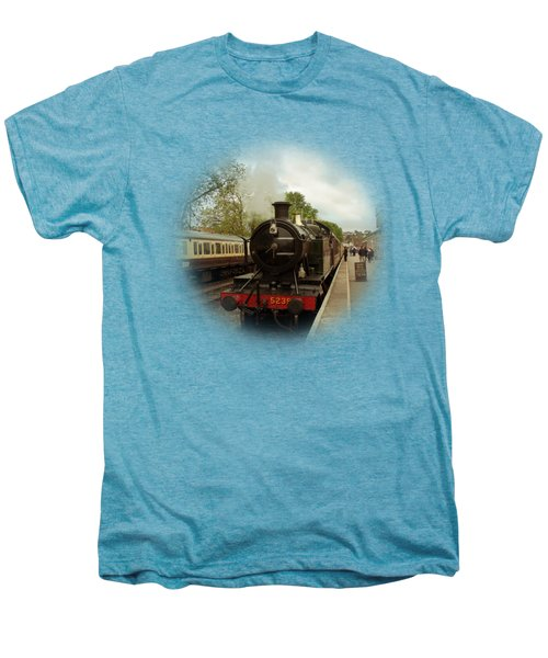 Goliath The Engine And Anna On Transparent Background Men's Premium T-Shirt by Terri Waters