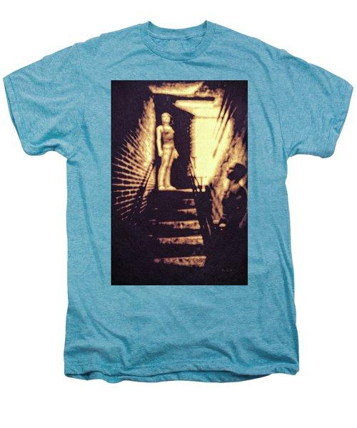 Good Neighbors  Men's Premium T-Shirt by Bob Orsillo