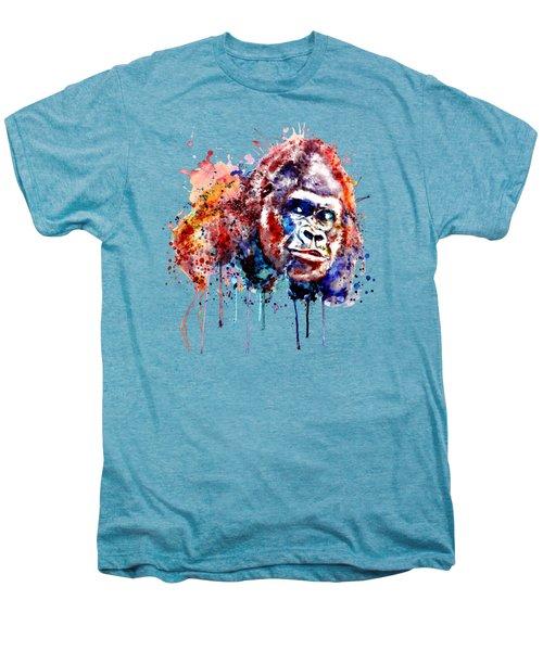Gorilla Men's Premium T-Shirt by Marian Voicu