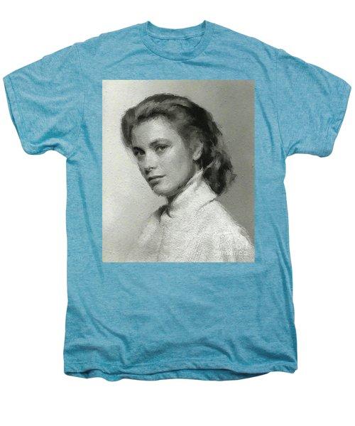 Grace Kelly, Vintage Actress Men's Premium T-Shirt