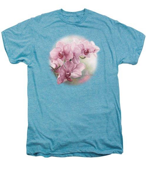 Graceful Orchids Men's Premium T-Shirt by Lucie Bilodeau