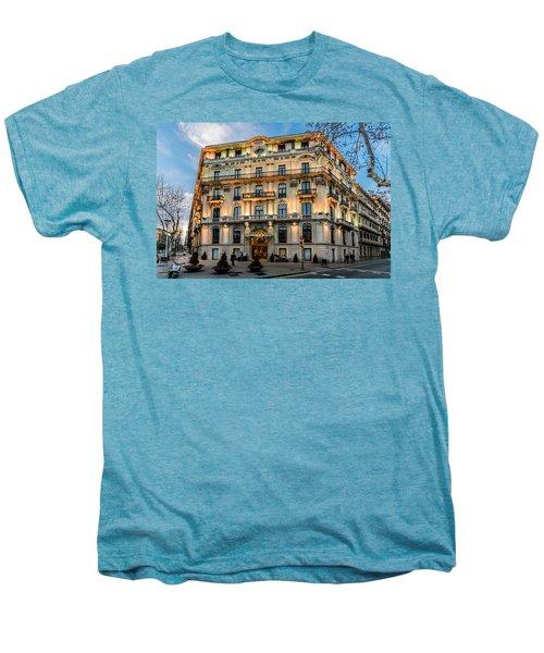 Gran Hotel Havana Men's Premium T-Shirt by Randy Scherkenbach
