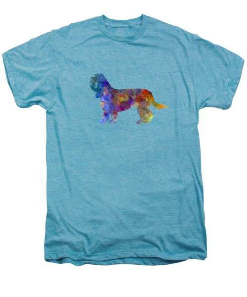 Grand Basset Griffon Vendeen In Watercolor Men's Premium T-Shirt