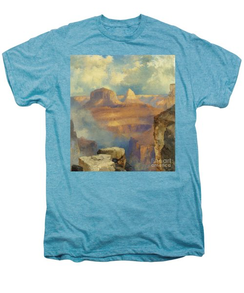Grand Canyon Men's Premium T-Shirt by Thomas Moran