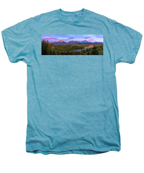 Grand Tetons Men's Premium T-Shirt