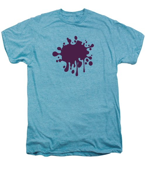 Grape Wine Solid Color Men's Premium T-Shirt by Garaga Designs