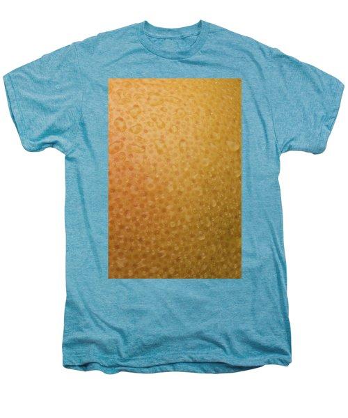 Grapefruit Skin Men's Premium T-Shirt by Steve Gadomski
