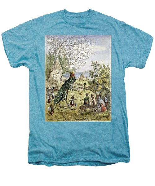 Grasshopper And Ant Men's Premium T-Shirt by Granger
