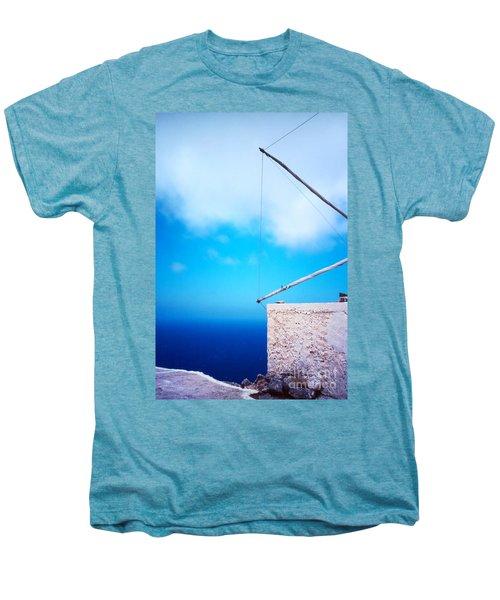 Greek Windmill Men's Premium T-Shirt